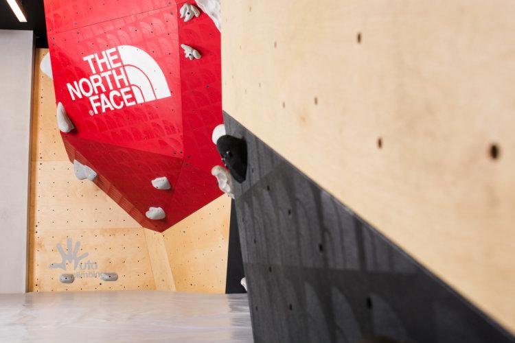 The North Face Store Santa Fe Climbing Wall by Muta Climbing
